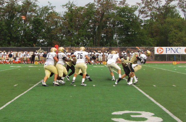 Gators thump Bishop McDevitt 28-7
